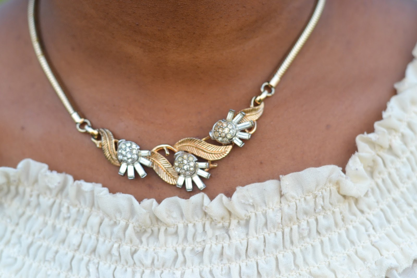 Vintage Gold Necklace from Millesime R n M