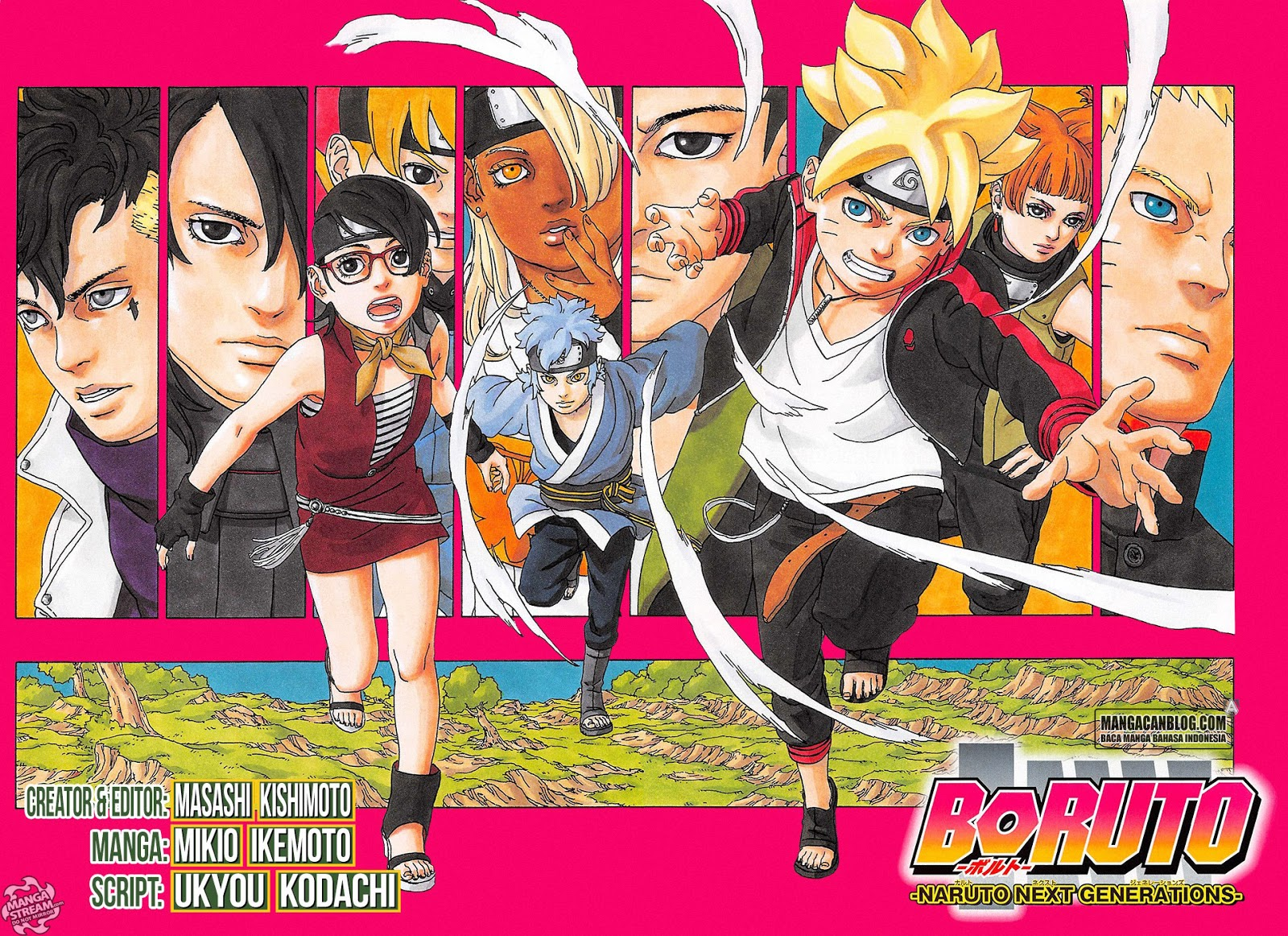 Boruto : Naruto Next Generation Chapter 1