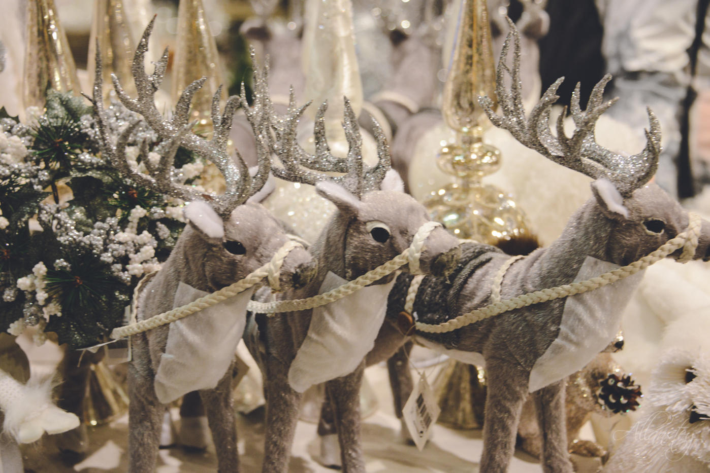 deers Christmas holiday decorations