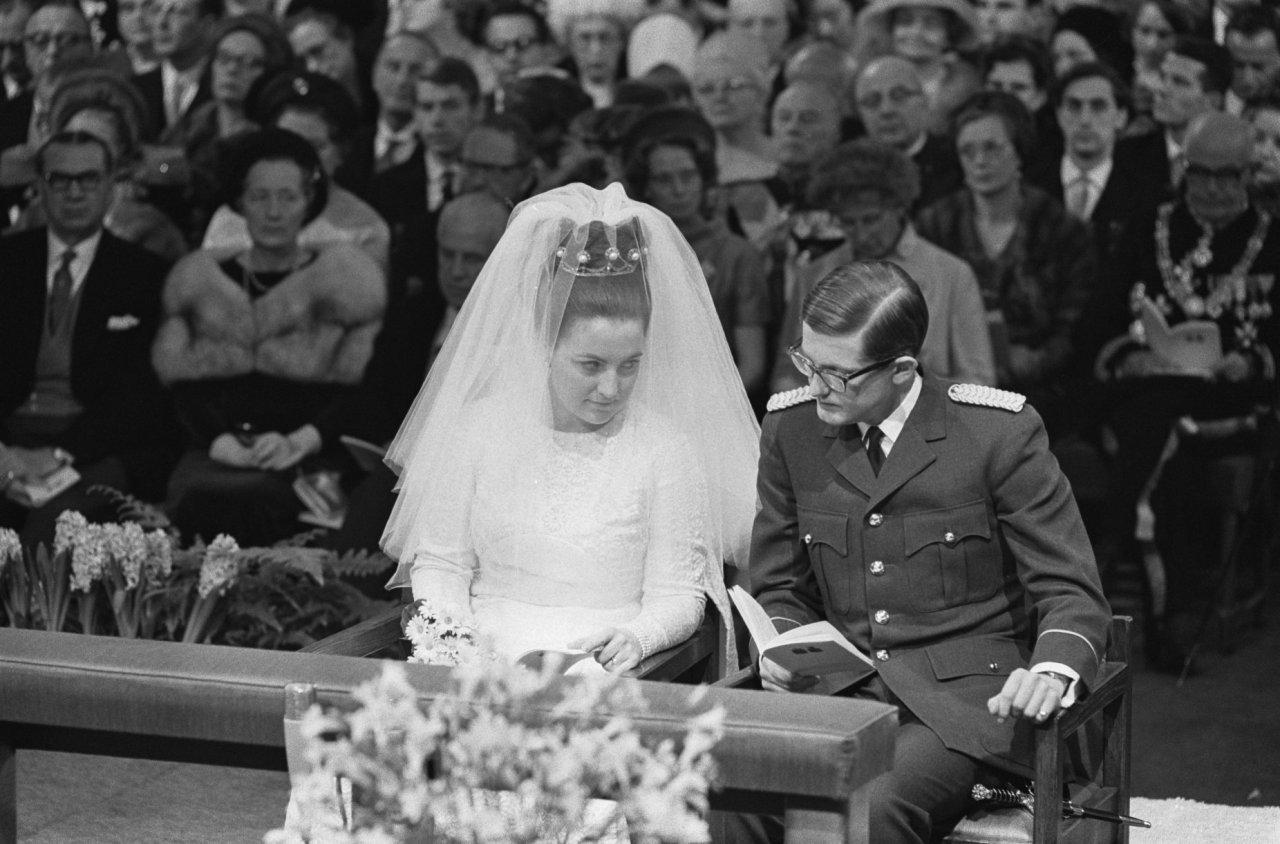 10 Januari 1967 Huwelijk Prinses Margriet En Prof Mr