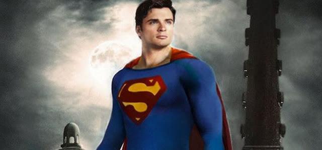 Superman de Tom Welling nunca foi cogitado para usar uniforme em Crise nas Infinitas Terras