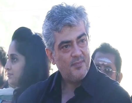Ajith Participates In Nadigar Sangam Strike Against Jallikattu BAN