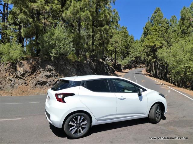 ruta en coche por el Teide