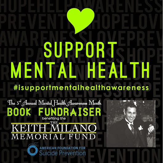 The 3rd Annual Mental Health Awareness Month Book Fundraiser **GIVEAWAY**