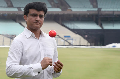 Former Indian Captain Sourav Ganguly