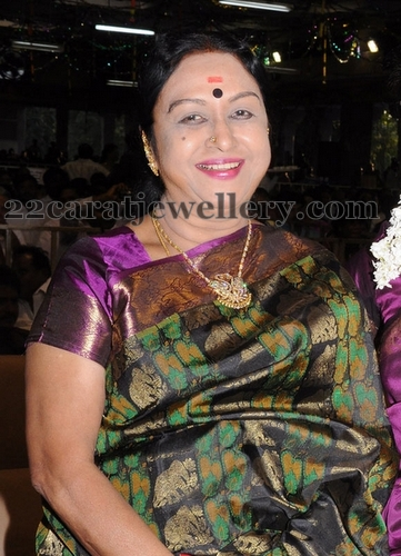 Saroja Devi Diamond Necklace Jewellery Designs