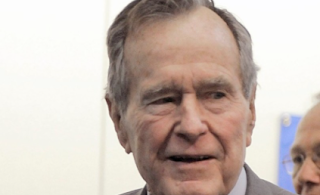 New accuser says George H.W. Bush groped her while he was president