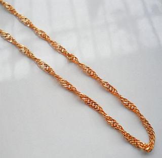 Model Kalung emas 3 gram