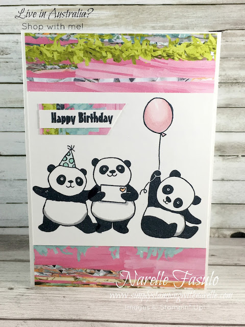 Party Pandas Stamp Set - The cutest little pandas around - Get these FREE with a qualifying order - https://www3.stampinup.com/ecweb/default.aspx?dbwsdemoid=4008228