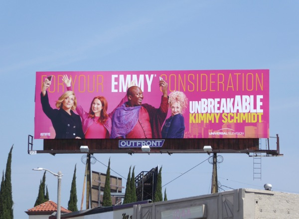 Unbreakable Kimmy Schmidt season 2 Emmy 2016 FYC billboard