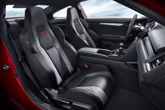 Novo Honda Civic Si 2018 - interior