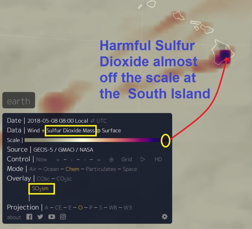 UPDATES - Big Island Volcano/Earthquake - 5/08/18 Naamloos