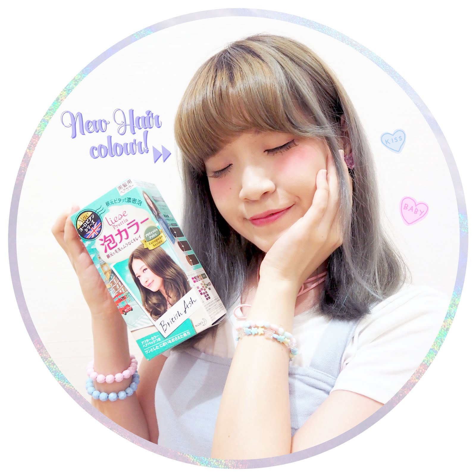 Review: Liese Prettia Bubble Hair Color Dye in British Ash - Angie ...