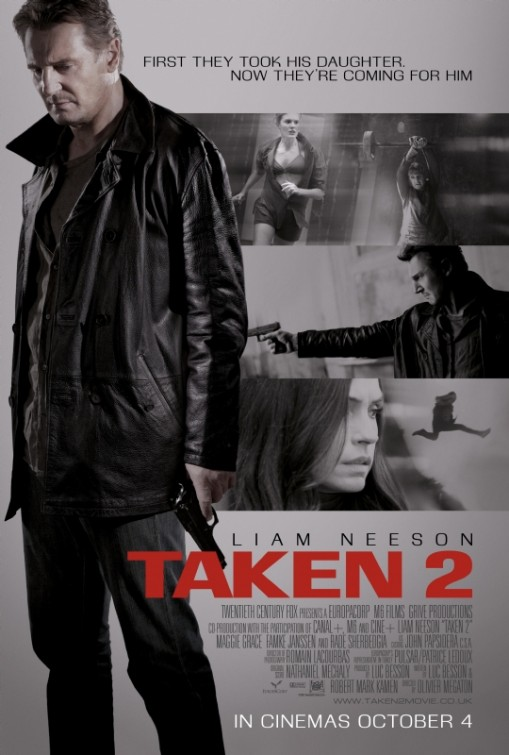 Double O Section Movie Review Taken 2 2012