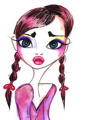 Bebee Pino girl with braids
