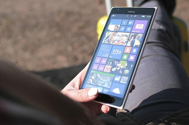 Nokia Lumina Phone Windows Mobile Business