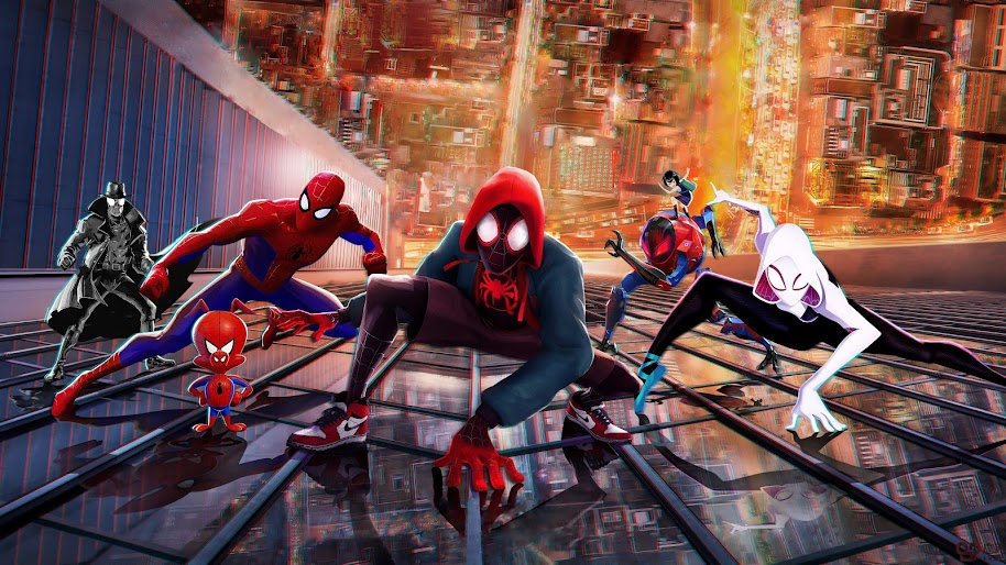 Spider Man Into The Spider Verse 4k 3840x2160 20 Wallpaper