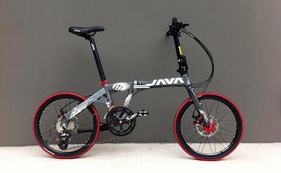 Beverly Cycle 富康單車: 將軍澳富康單車 - JAVA FIT 16 Speed 摺車(行貨)