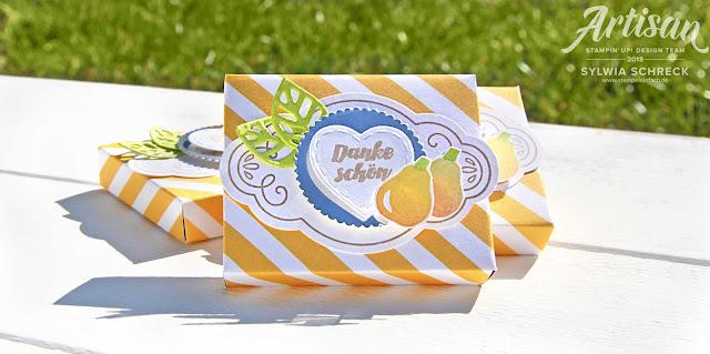 Verpackungen mit dem Stampin´ Up! Designerpapier Tuttifrutti!
