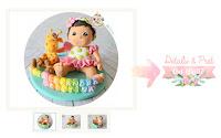 figurina tort bebe