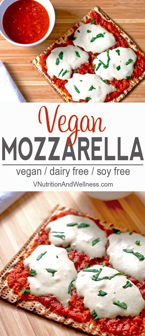 Vegan Mozzarella Cheese Alternative