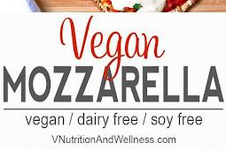 Vegan Mozzarella Cheese Alternative