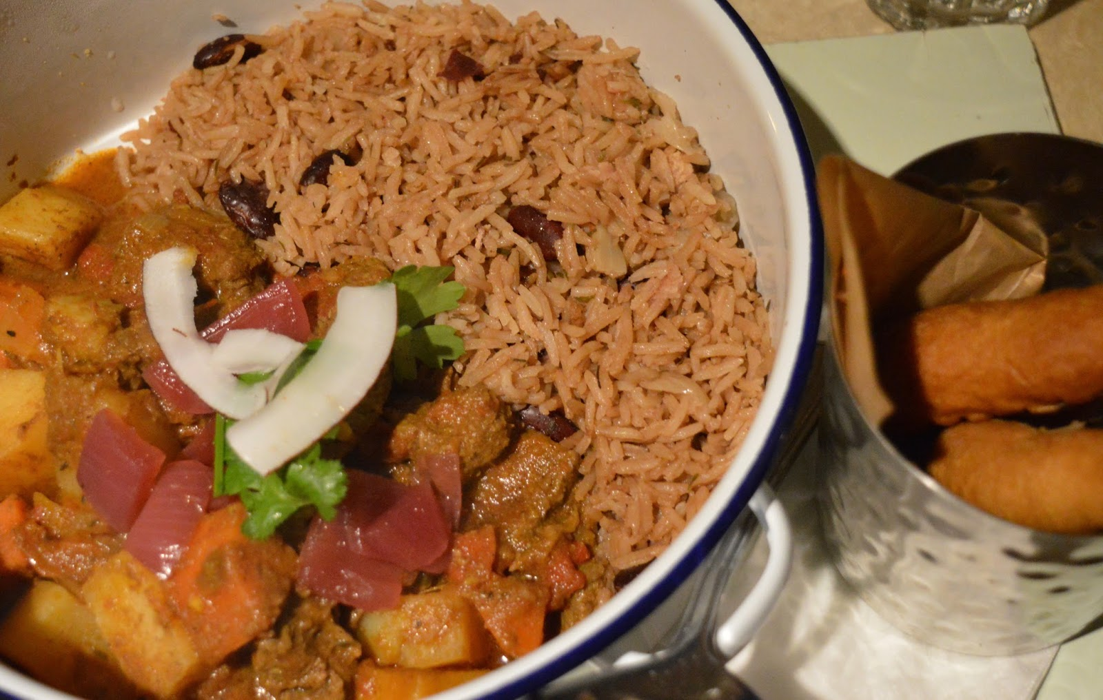 Goat 'one pot' curry from Turtle Bay Newcastle