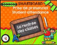 https://www.teacherspayteachers.com/Product/FRENCHSMARTBOARDAttendance-back-to-schoolPrise-de-presences-retour-en-classe-1328636