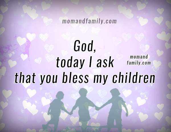 Protection prayer for my children, free christian family prayer, mom and family love by Mery Bracho, christian image. Mery Bracho's prayers.