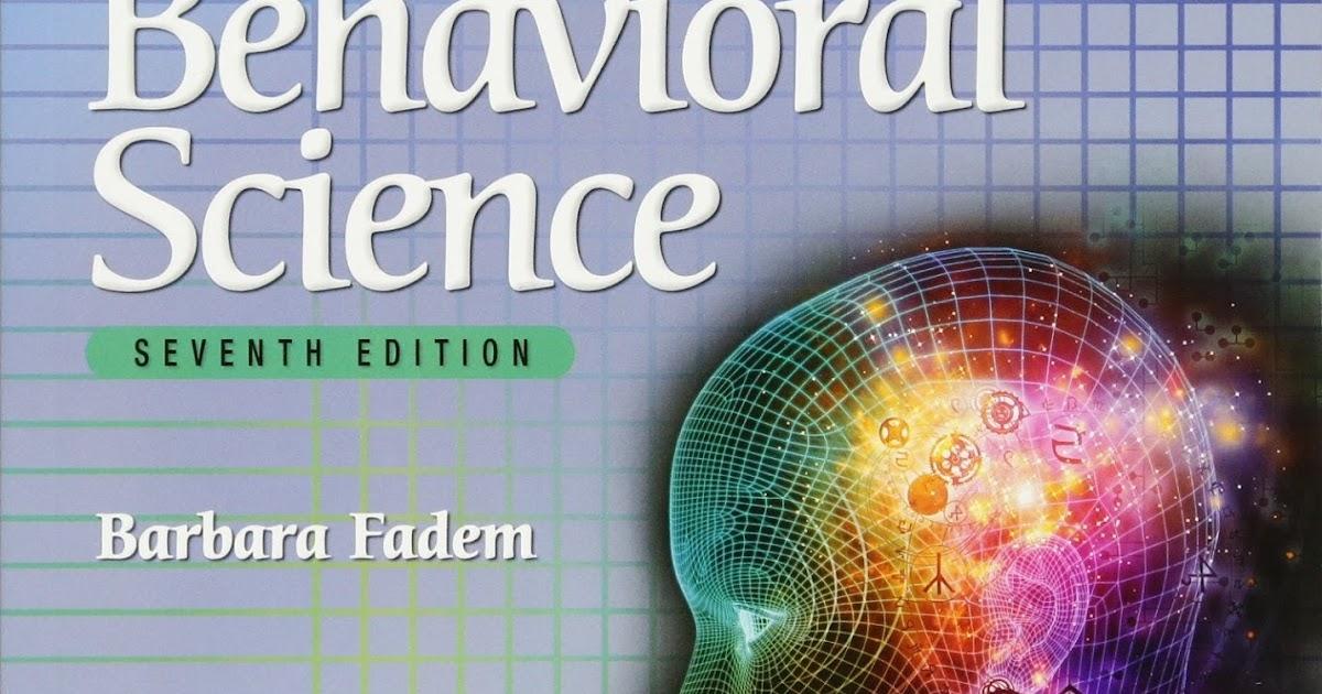 Free medical books pdf: BRS Behavioral Science pdf