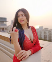 Adah Sharma Sizzling Photo Shoot HeyAndhra.com