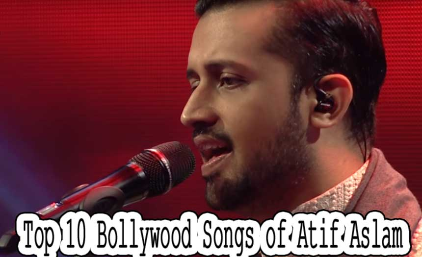 Top 10 Most Popular Bollywood Singers of 2017 - Atif Aslam