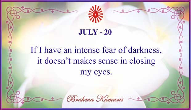 Thought For The Day July 20