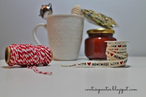 Presentes de Natal - cabaz de chá