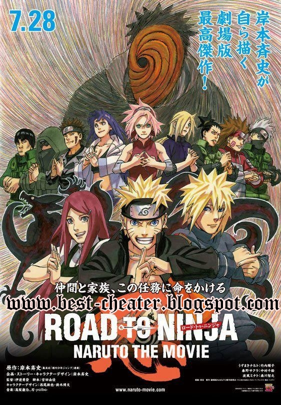 Naruto Shippuden the Movie 6 - Road to Ninja