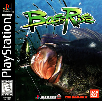 descargar bassrise fishing psx mega