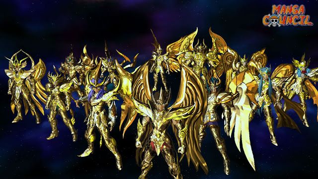 Saint Seiya Soldiers Soul Battle of Gold Finale