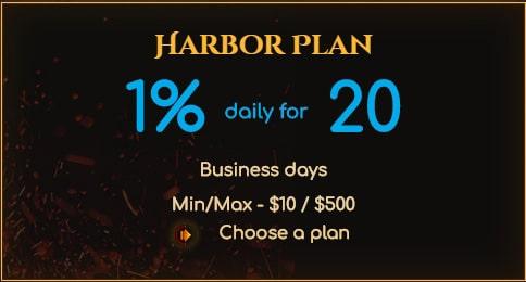 Инвестиционные планы Crypto Harbor 2