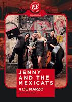 Concierto de Jenny and The Mexicats en Escenario Eslava