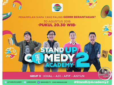 Stand Up Comedy Academy ( SUCA ) 2, 13 Besar, Grup 3