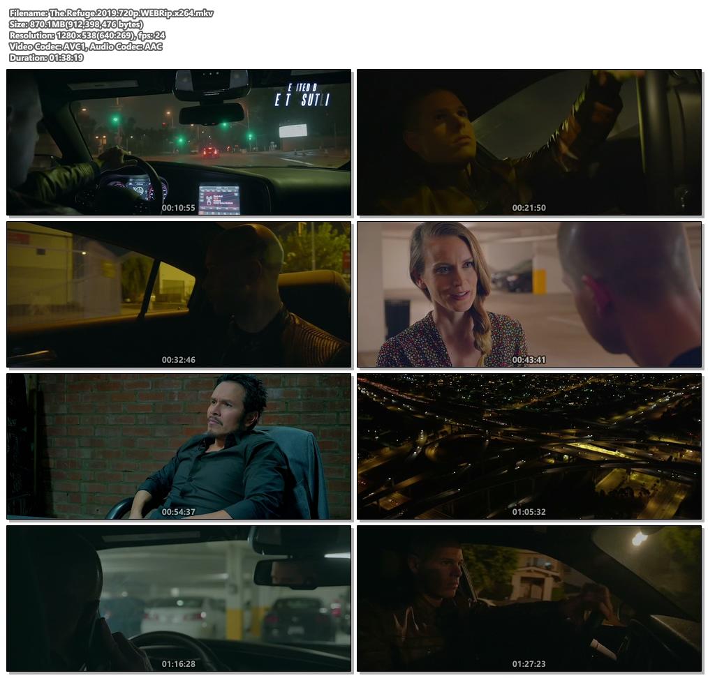 The Refuge 2019 720p WEBRip x264 | 480p 300MB | 100MB HEVC Screenshot