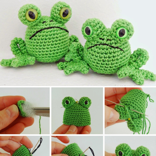 Fred the Frog - Free Pattern
