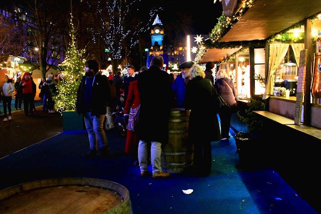 Edinburgh Christmas Market UK Travel Lifestyle Blog