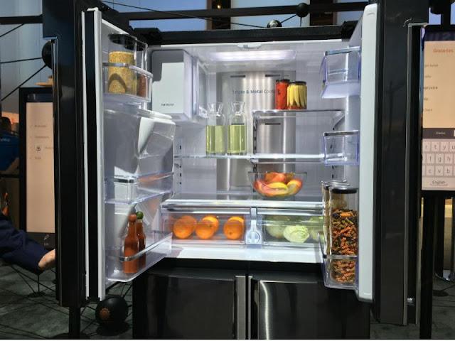 Tủ lạnh Samsung Hub gia đình mát hơn lạnh nhanh hơn