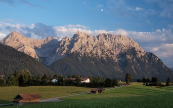 Wallpaper: Bavarian Alps