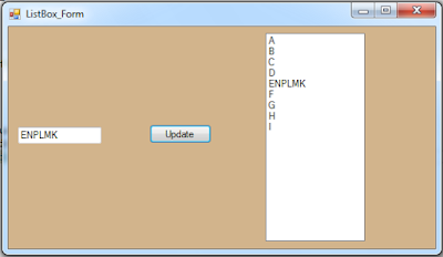 c# edit listbox selected item
