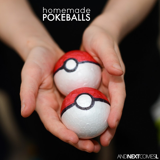 How to make DIY pokeballs