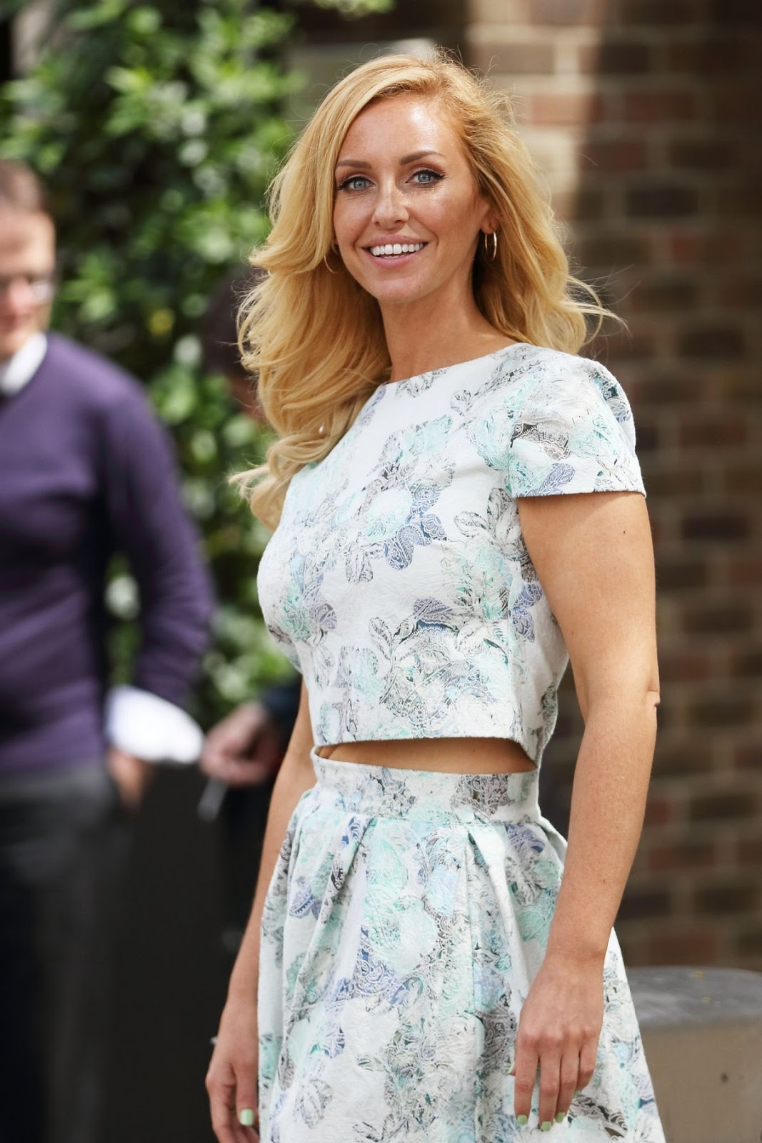 HD Photos of Josie Gibson at London ITV Studios