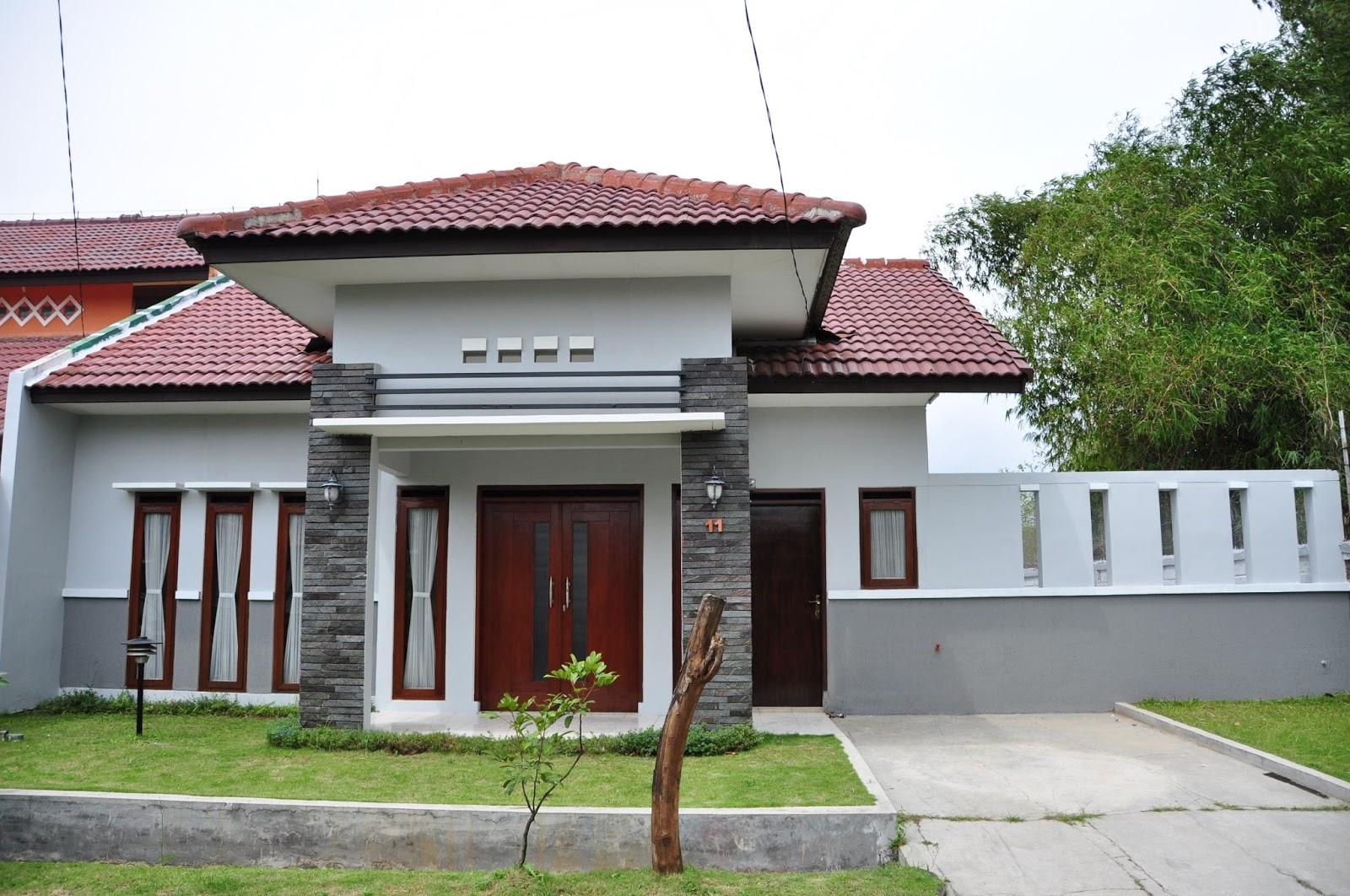 Model Teras Rumah Kampung Sederhana