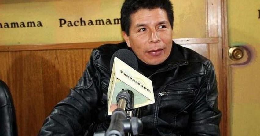 PEDRO CASTILLO: Dirigente anuncia paralización del magisterio el 5 de abril